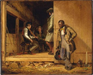 William Sidney Mount, The Power of Music, signed and dated 1847. Oil on canvas, 67 by 78 cm.Cleveland Museum of Art