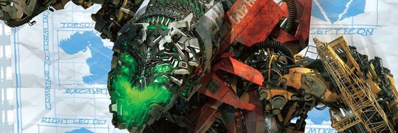 Illustration for article titled Transformers 2 Devastator Revealed, Gives Us Nightmares