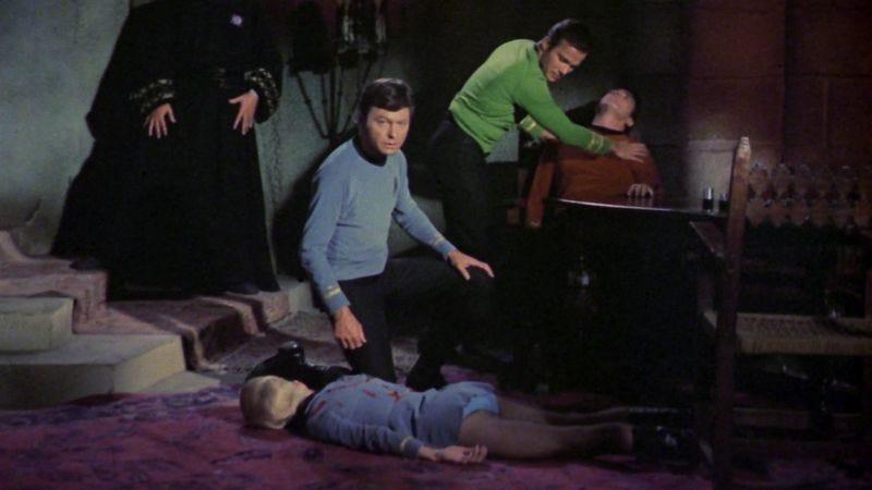 "Star Trek, ""Wolf In The Fold"""