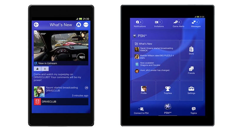 Illustration for article titled The PS4's Mobile App Sounds Fantastic. No, Really.