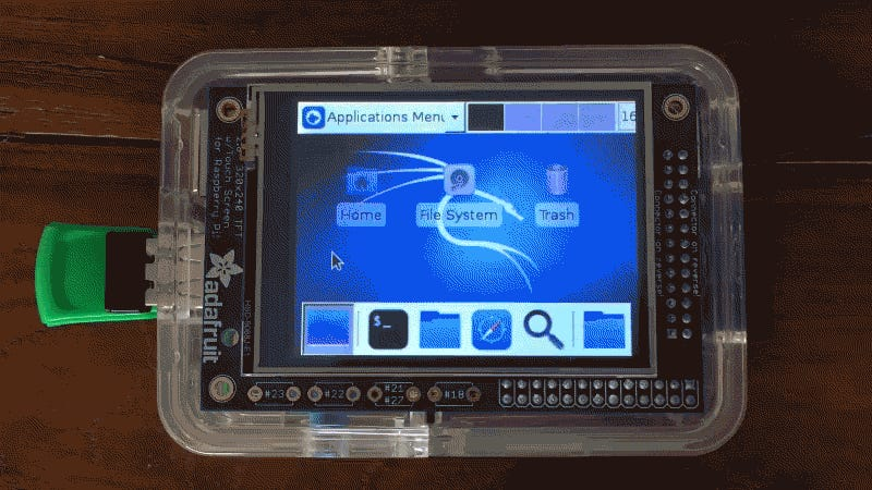How to Build a Portable Hacking Station with a Raspberry Pi and Kali