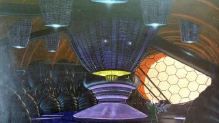 Illustration for article titled Never-Before-Seen Concept Art from David Cronenberg's Total Recall!