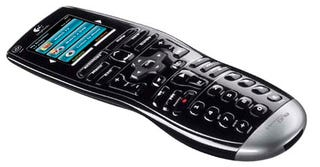 Illustration for article titled Logitech Harmony One IR Remote Is Easy-Grip Capacitive-Touch Couch Buddy