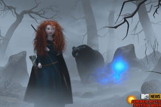 Illustration for article titled Princess Merida Braving It in Brave