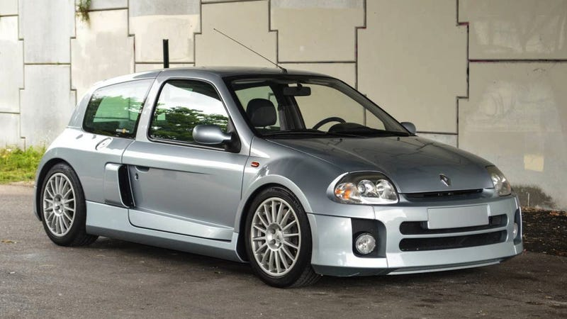 for 69 000 would you make history with this uber rare 2003 renault clio v6