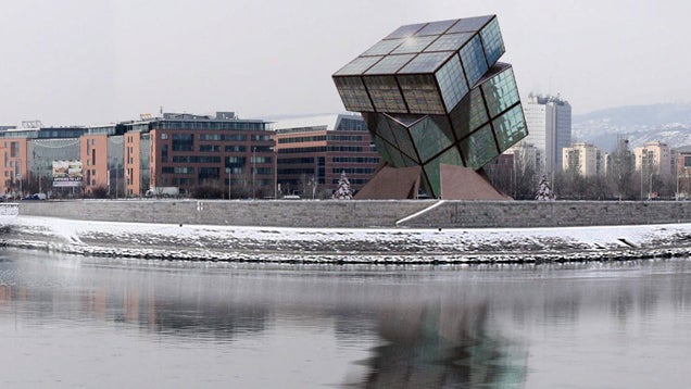 All of These Buildings Were Inspired by the Rubik's Cube