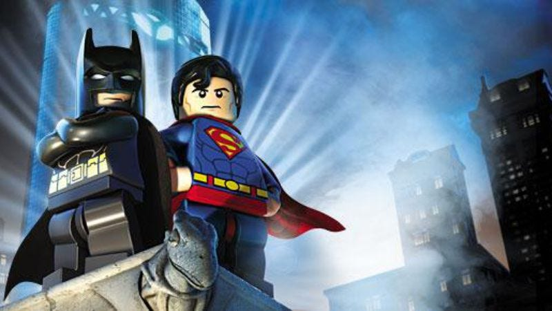 Illustration for article titled Batman and Superman will finally team up in a movie, but as Legos