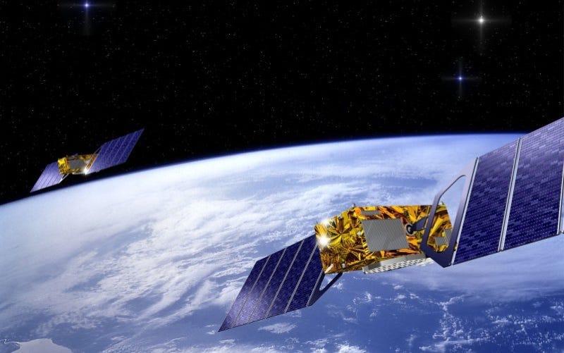 Illustration for article titled El lanzamiento fallido de dos satélites permitirá probar la teoría de la relatividad general