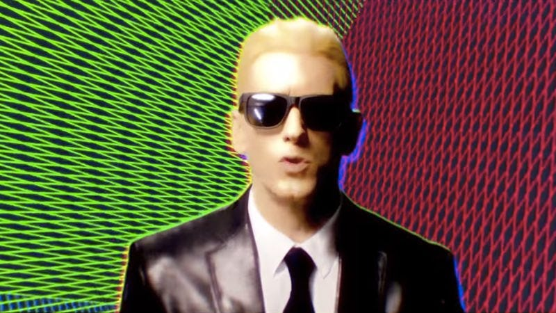 """Illustration for article titled Eminem is getting sued for allegedly stealing a sample used in """"Rap God"""""""