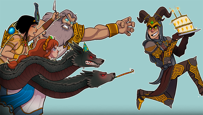 Illustration for article titled Smite Celebrates Second Anniversary With PS4 Open Beta