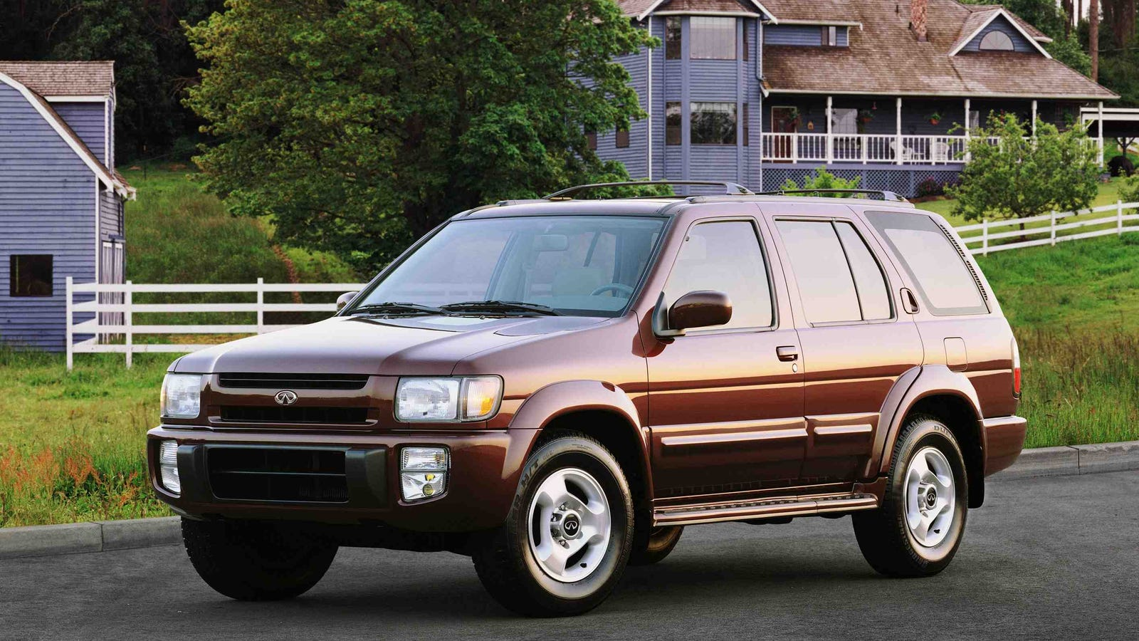The infiniti qx4 was a pathfinder for ballers vanachro Image collections