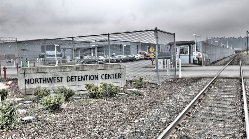 A hunger strike at the Northwest Detention Center is throwing concerns over contaminated water into the spotlight.