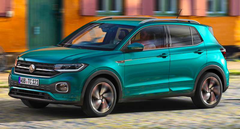 Vw T Cross >> This Little Green Thing Is The 2019 Volkswagen T Cross But Don T Be
