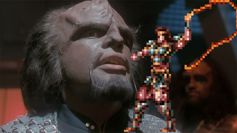 Illustration for article titled Lieutenant Worf is Playing a Werewolf in the Castlevania Movie. Wait, What?