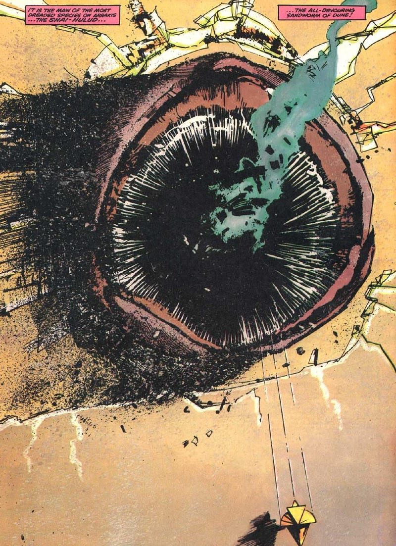 Illustration for article titled Read the entire Marvel comic based on Dune
