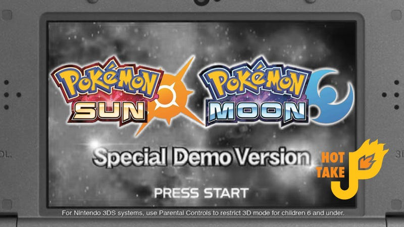 Illustration for article titled Hot Take: Pokémon Sun & Moon Special Demo (3DS eShop)