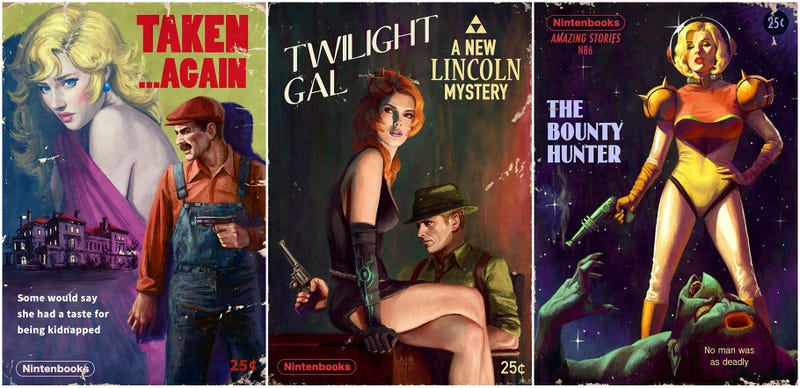 Illustration for article titled Video Games Make Surprisingly Beautiful Pulp Novels