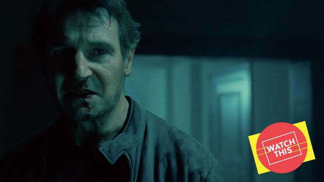 Liam Neeson began his best action-movie collaboration with the Hitchcockian Unknown