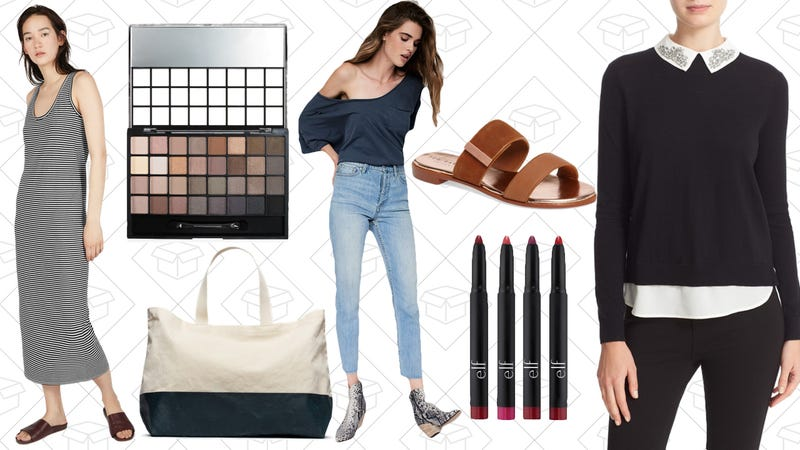 Illustration for article titled Today's Best Lifestyle Deals: Free People, e.l.f. Cosmetics, Everlane and More