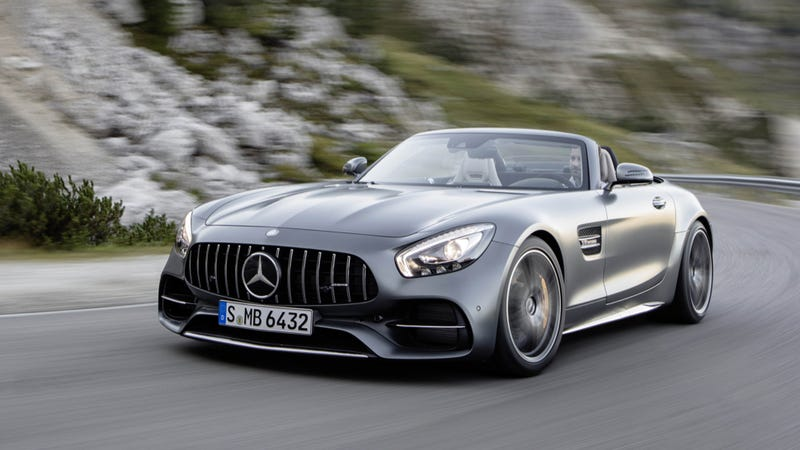 Illustration for article titled Mercedes-AMG GT Roadster: This Is It