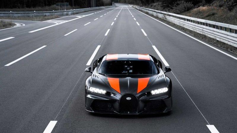 Illustration for article titled Bugatti anuncia que se retira de los récords de velocidad un día después de superar los 490 km/h con un Chiron