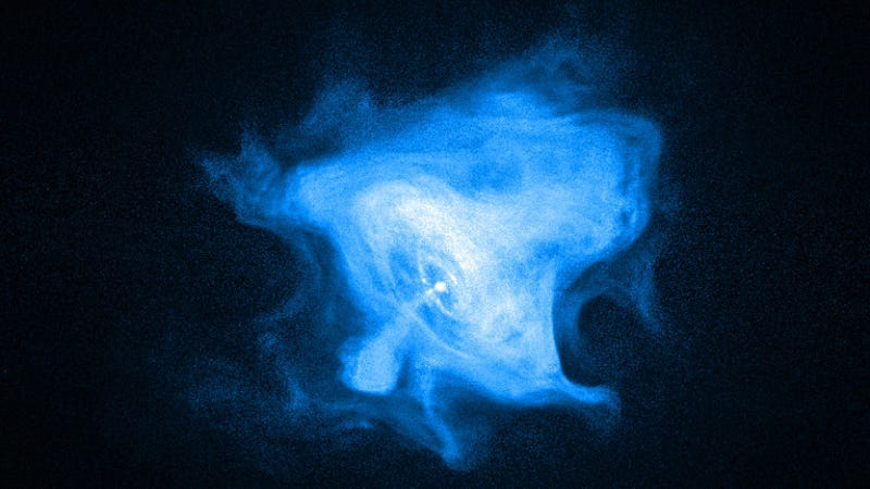 A pulsar in the Crab Nebula (Image: Chandra X-Ray Telescope)