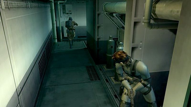 Illustration for article titled Guard In Video Game Under Strict Orders To Repeatedly Pace Same Stretch Of Hallway