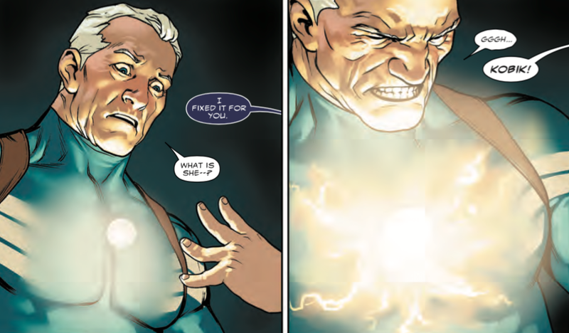 Illustration for article titled This Might Explain Why Captain America Is Evil Now