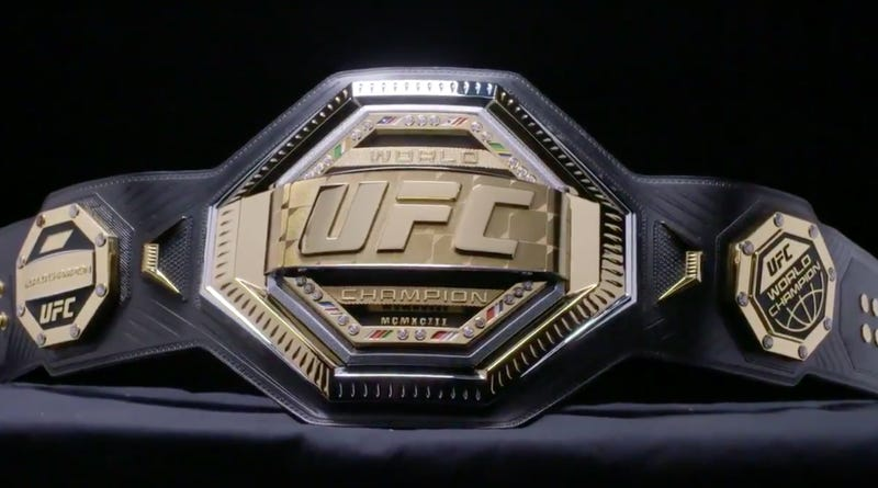 Illustration for article titled The New UFC Championship Belt Looks Like A Toy