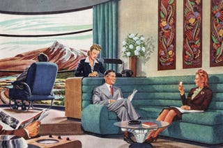 Illustration for article titled Trains of Tomorrow, After the War