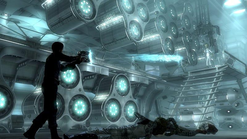 Illustration for article titled Fallout 3 Mothership Zeta Screens Kill Aliens Dead