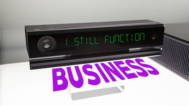 Illustration for article titled This Week In The Business: Kinect Is Totally Not Dead