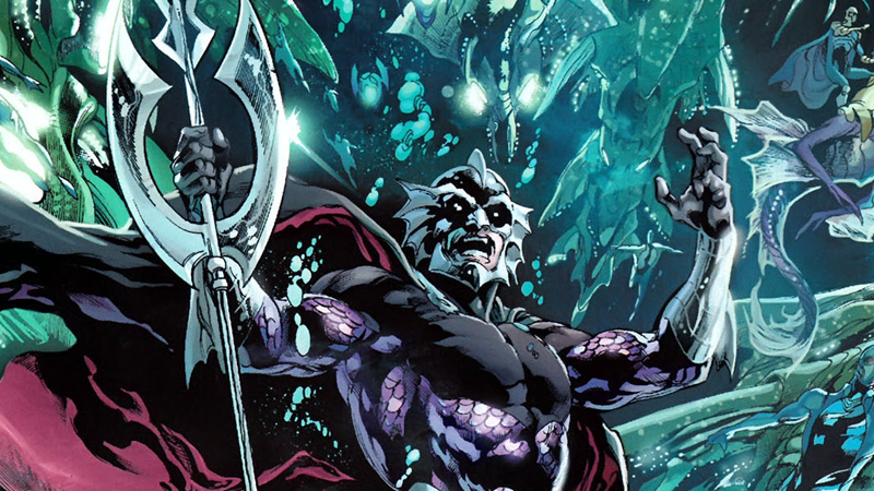 Illustration for article titled Ocean Master Will Menace the Seas in the AquamanMovie