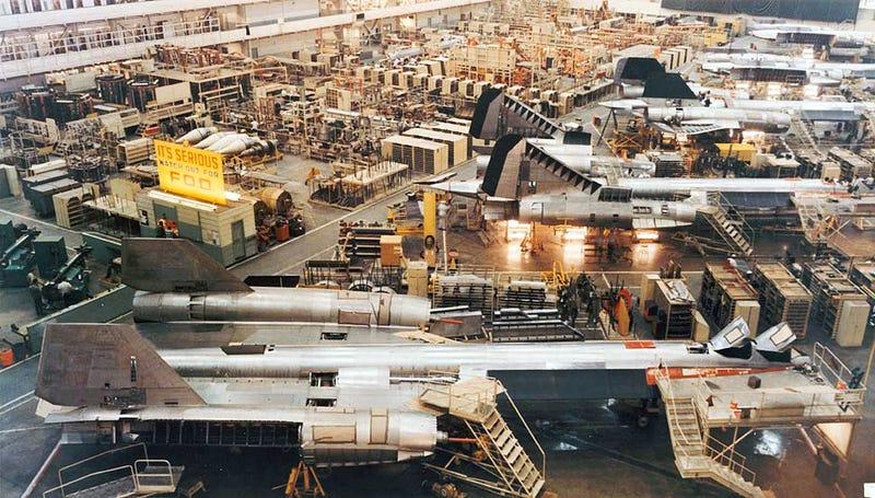Cómo se construyó el avión más rápido del mundo: el SR-71 Blackbird