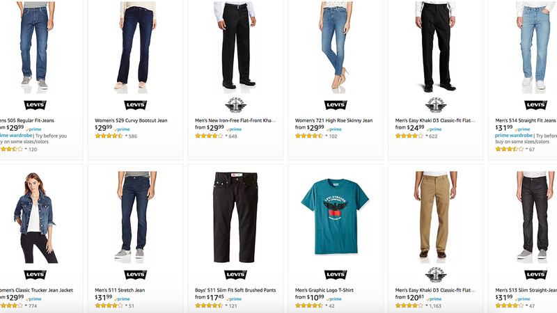 Levi's and Dockers Gold Box | Amazon