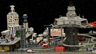 Illustration for article titled That's How You Build An Outer Space LEGO Colony