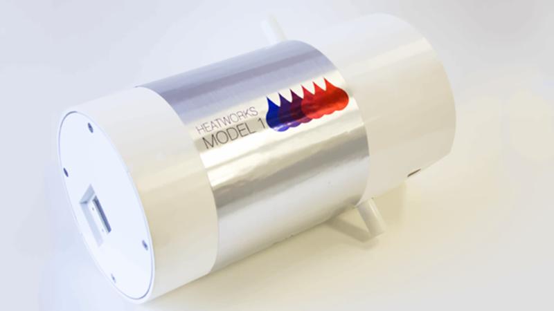Este peque o aparato calienta al instante el agua de for Grifo termostatico no calienta