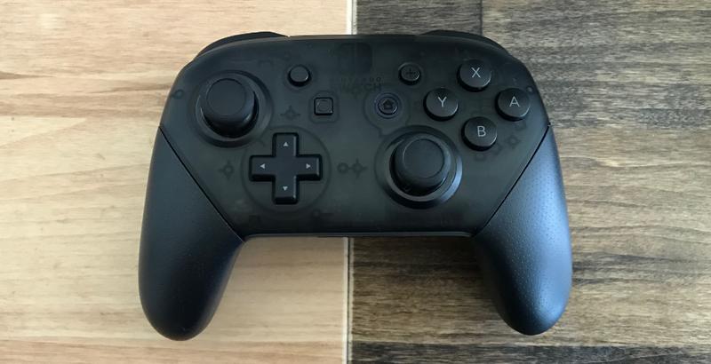 The Nintendo Switch Pro Controller Hides A Secret Message
