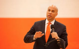 Cory Booker (Dave Kotinsky/Getty Images)