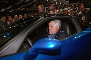 Illustration for article titled Jay Leno To Give Free Show To Unemployed Auto Workers