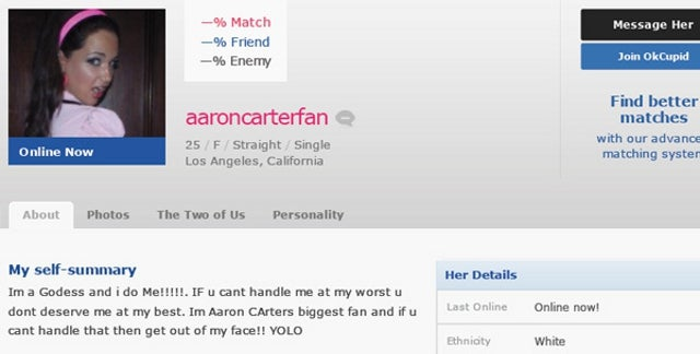 Aaron carter dating a girl from chicago