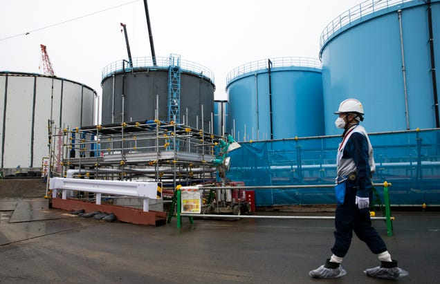 Fukushima's Contaminated Wastewater Could Be Too Risky to Dump in the Ocean