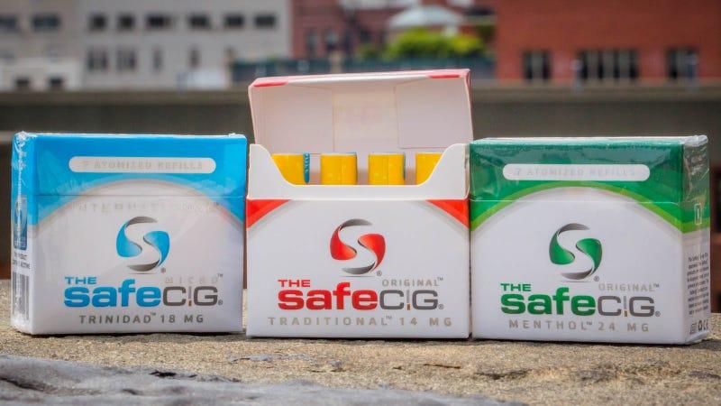 Illustration for article titled Safe Cig E-Cig