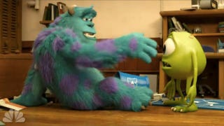 Illustration for article titled First clip from Monsters University shows the moment Sully and Mike met