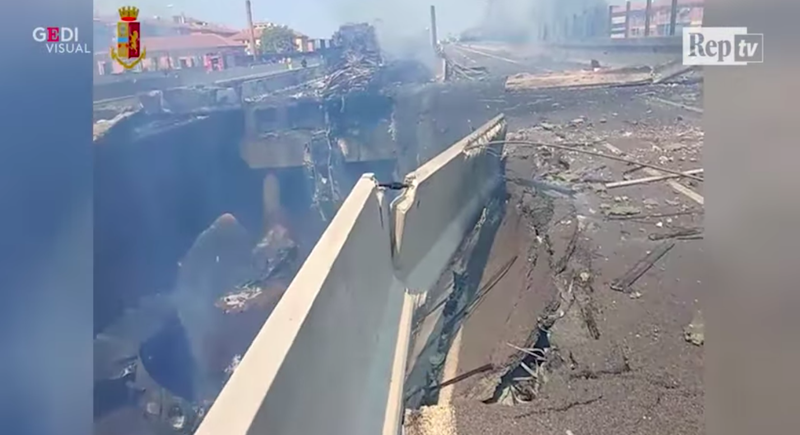 Illustration for article titled Explosion on Italian Highway Bridge Injures More Than 50: Report (Updated)