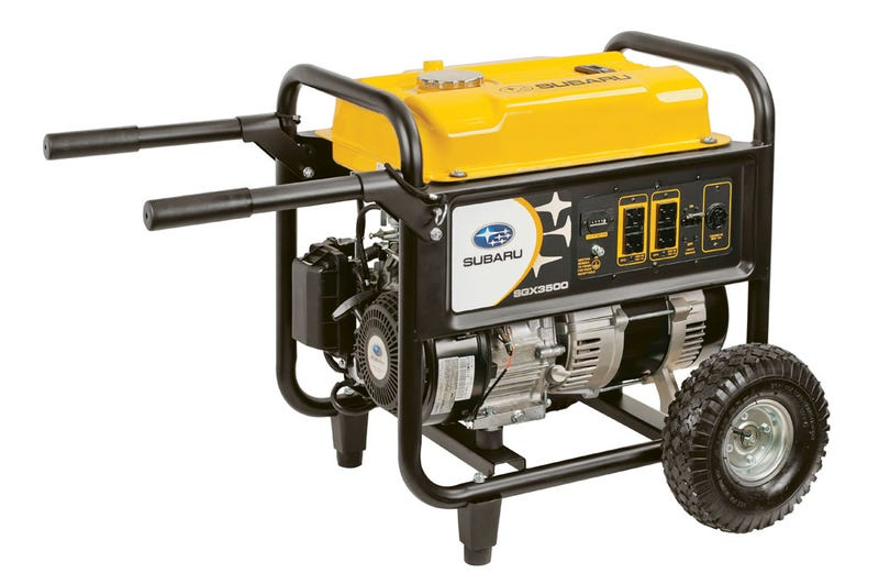 Illustration for article titled Did you know Subaru made generators?