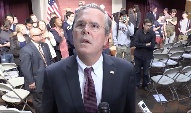 Jeb: It's Rude To Hear My Old Dad Say Things