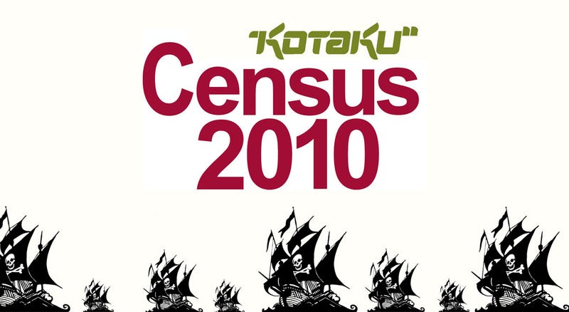 Illustration for article titled Kotaku Census 2010: PIRATES!