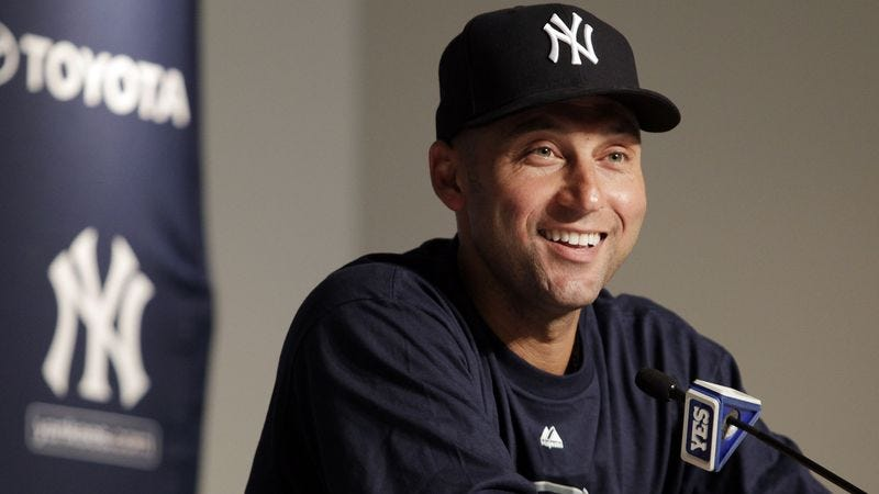 Illustration for article titled Derek Jeter Relieved He Can Go Back To Not Hitting Ball