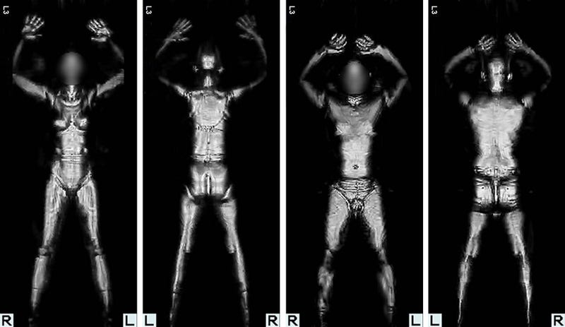 Illustration for article titled Here's A List of US Airports Currently Using Full Body Scanners